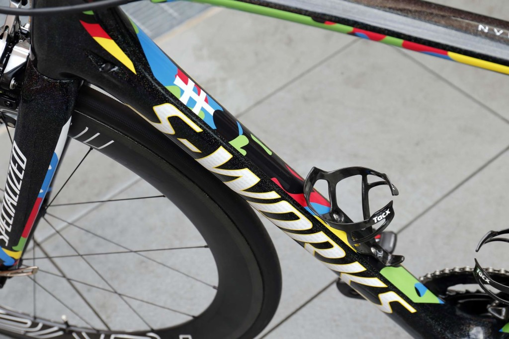 3 October 2015Bike of SAGAN Peter (SVK) Tinkoff - SaxoPhoto : Yuzuru SUNADA